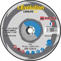 Disque  acier-inox 230*1.9 EVOLUTION 3.0
