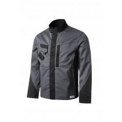 Veste Tools poly/coton gris/noir ref 5241