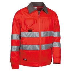 Veste Glaring rouge/anthracite V550