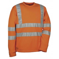 Tee-shirt manche longe SKITTLE V110-1 orange