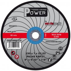 Disque 230x7 POWER Acier inox