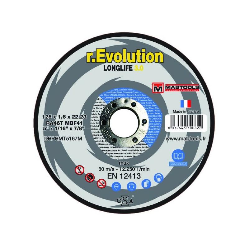 1a8d1a7d423fe Disque 125 1.6 évolution 3.0 acier inox - Rocher Services