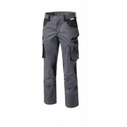 Pantalon Tools poly/coton gris noir ref 5341