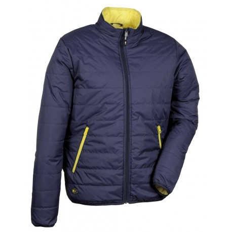 Veste TURIN bleu navy/jaune