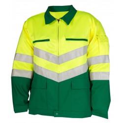 Blouson jaune/vert MAX 9226-9558-720