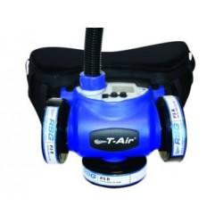 Système ventilé T-Air pour cagoule, visière, casque à visière et cagoule soudure