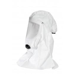 Cagoule T-Air blanche ventilée tissus 5/6