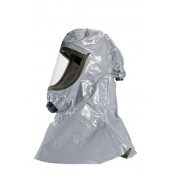 Cagoule T-Air CHEM3 gris ventilée tissus 3/4/5/6